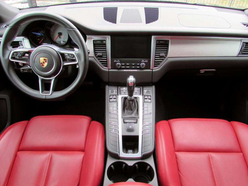 Porsche Macan S Diesel Noir occasion à BEAUPUY - photo n°2