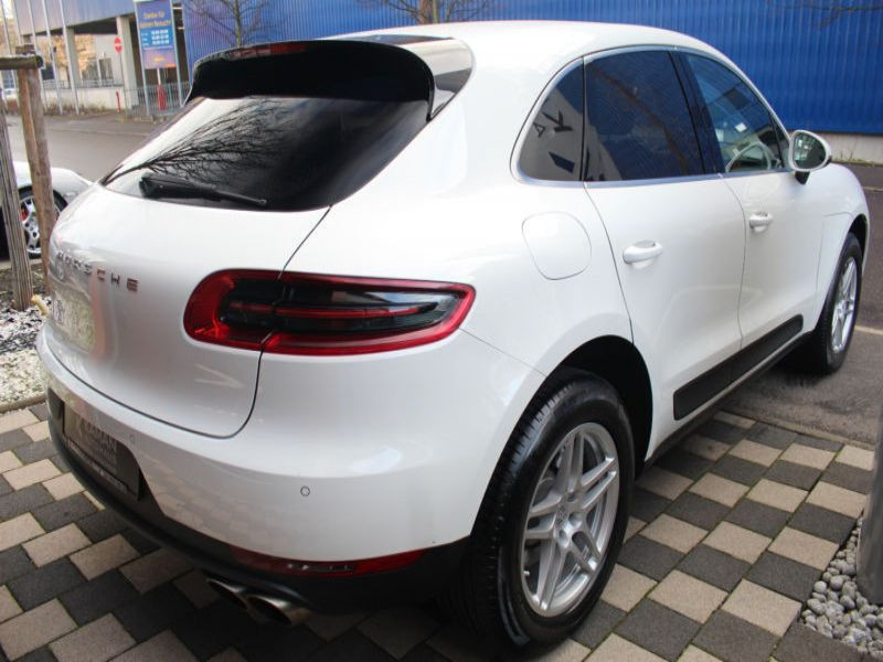 Porsche Macan S Diesel Blanc occasion à BEAUPUY - photo n°3