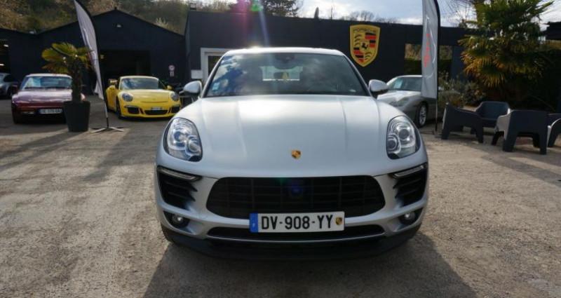 Porsche Macan S Gris occasion à Charpont - photo n°2