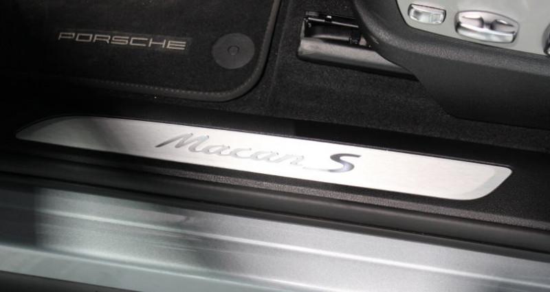 Porsche Macan S Gris occasion à Le Port Marly - photo n°4