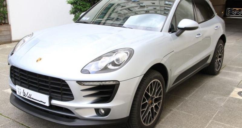 Porsche Macan s Gris occasion à Neuilly Sur Seine