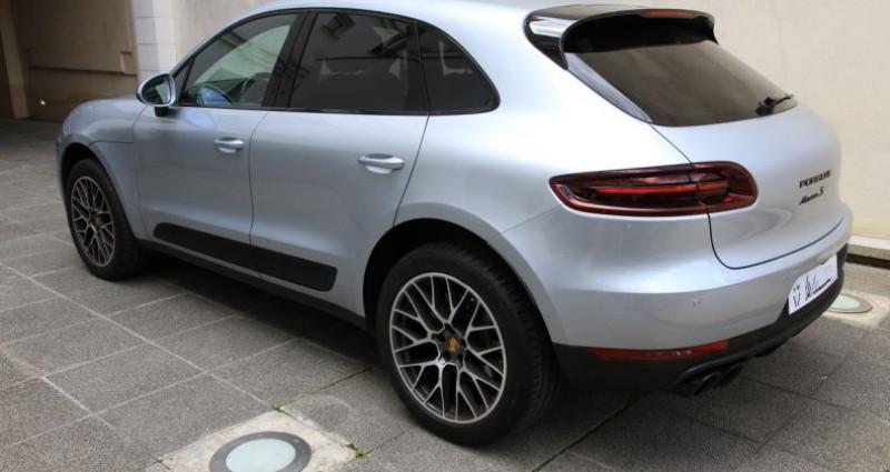 Porsche Macan s Gris occasion à Neuilly Sur Seine - photo n°4