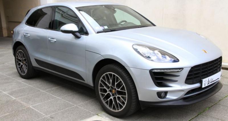 Porsche Macan s Gris occasion à Neuilly Sur Seine - photo n°3