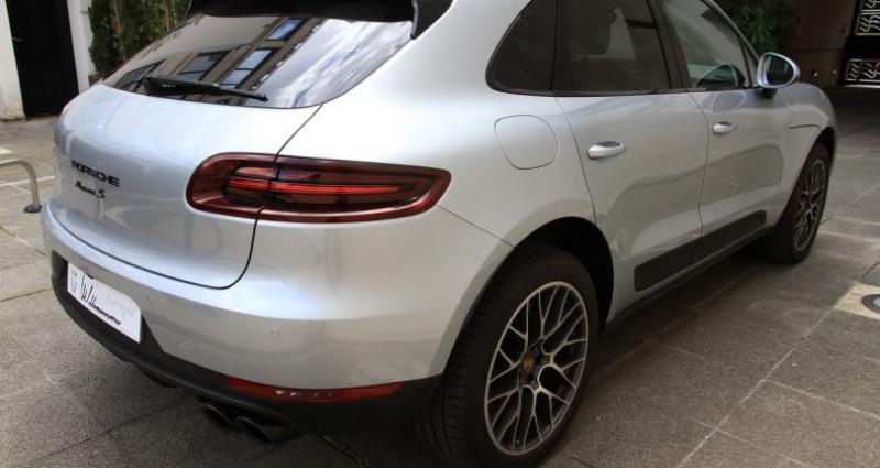 Porsche Macan s Gris occasion à Neuilly Sur Seine - photo n°6
