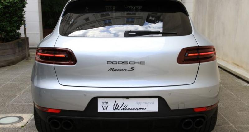 Porsche Macan s Gris occasion à Neuilly Sur Seine - photo n°5