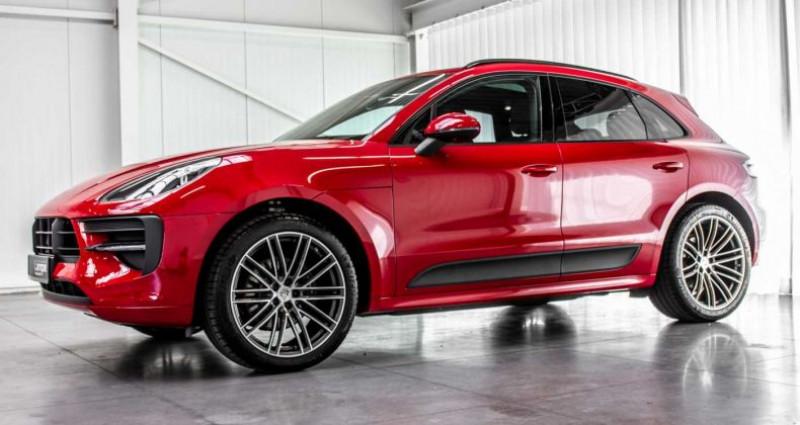 Porsche Macan Sport Design Pack Panodak BOSE ACC Trekhaak Luchtv Rouge occasion à Hooglede - Gits - photo n°4