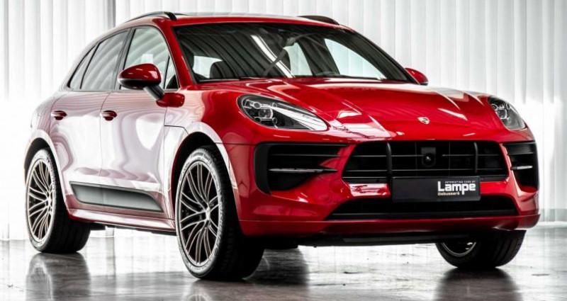Porsche Macan Sport Design Pack Panodak BOSE ACC Trekhaak Luchtv Rouge occasion à Hooglede - Gits - photo n°5