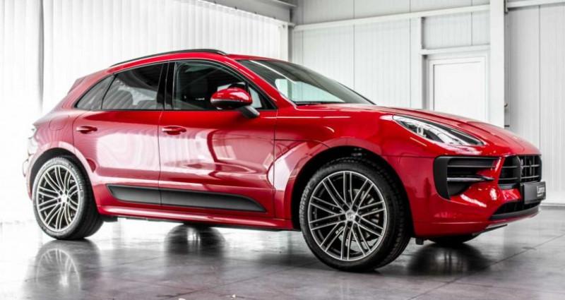 Porsche Macan Sport Design Pack Panodak BOSE ACC Trekhaak Luchtv Rouge occasion à Hooglede - Gits - photo n°6