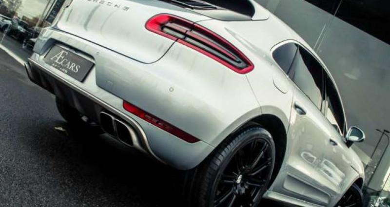 Porsche Macan TURBO - 1 OWNER - FULL - BURMESTER - BELGIAN Gris occasion à IZEGEM - photo n°4