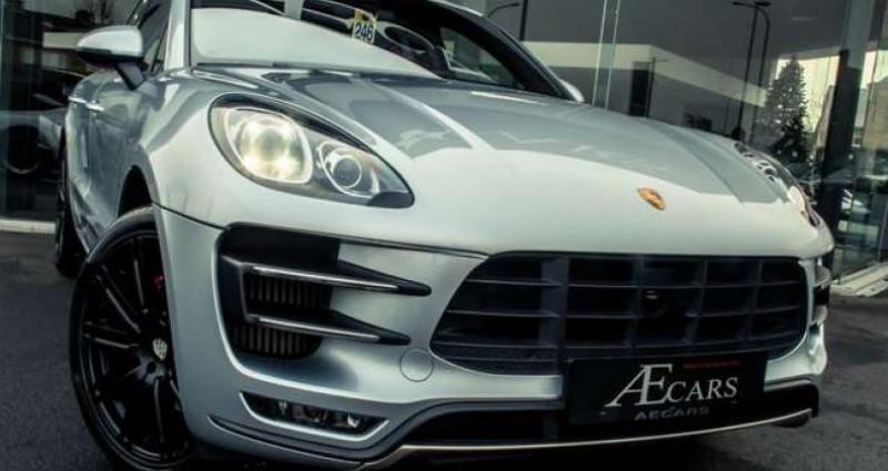 Porsche Macan TURBO - 1 OWNER - FULL - BURMESTER - BELGIAN Gris occasion à IZEGEM - photo n°2