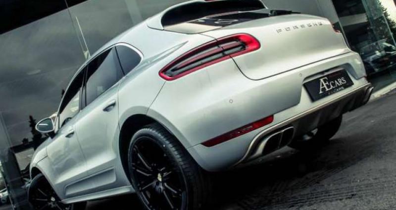 Porsche Macan TURBO - 1 OWNER - FULL - BURMESTER - BELGIAN Gris occasion à IZEGEM - photo n°5