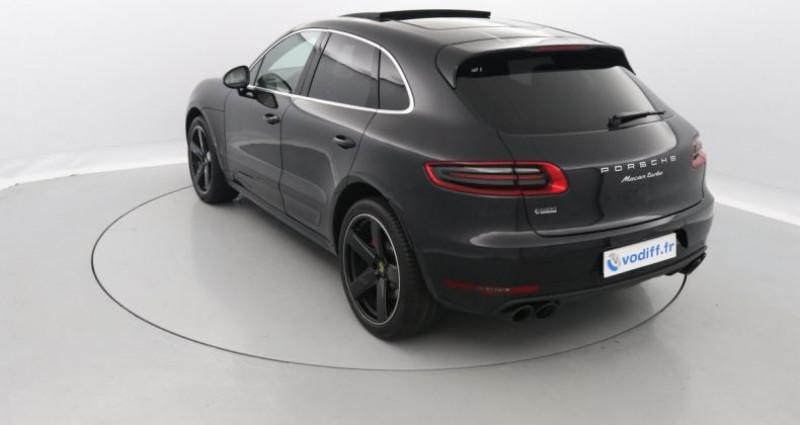 Porsche Macan TURBO 400 CV PDK Noir occasion à Entzheim - photo n°2