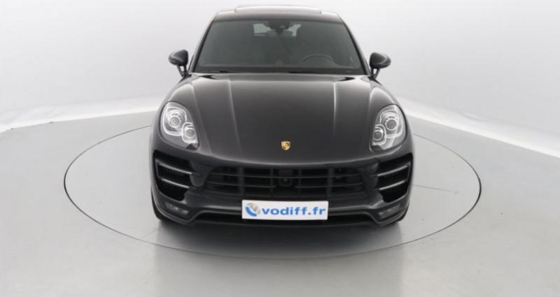 Porsche Macan TURBO 400 CV PDK Noir occasion à Entzheim - photo n°4