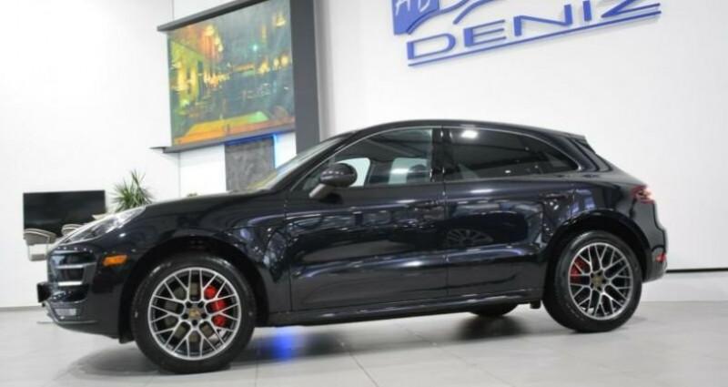 Porsche Macan turbo s Noir occasion à Mudaison - photo n°4