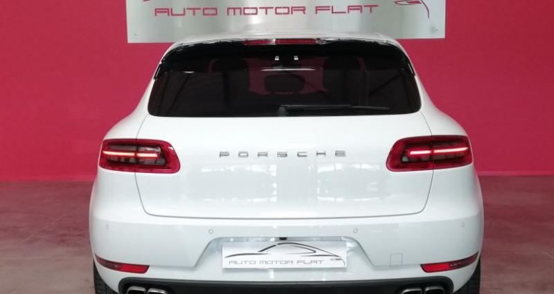 Porsche Macan TURBO Blanc occasion à SAINT ANDRE DE CORCY - photo n°3
