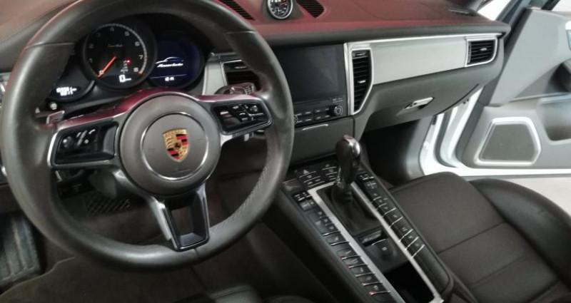 Porsche Macan TURBO Blanc occasion à SAINT ANDRE DE CORCY - photo n°5