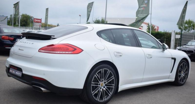 Porsche Panamera (970) 3.0 TD 300CH EDITION Blanc occasion à VENDARGUES - photo n°3