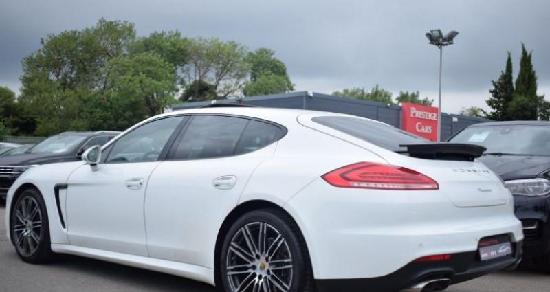 Porsche Panamera (970) 3.0 TD 300CH EDITION Blanc occasion à VENDARGUES - photo n°6