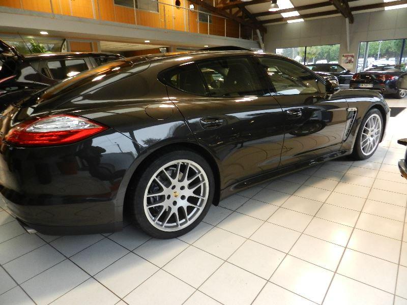 Porsche Panamera (970) DIESEL 250CH Gris occasion à Quimper - photo n°2