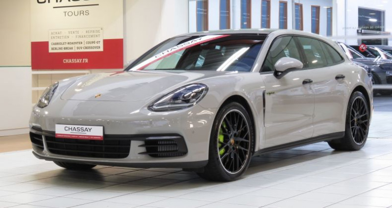 Porsche Panamera 2 Sport Turismo E-Hybrid II Sport Turismo 4 Gris occasion à Tours