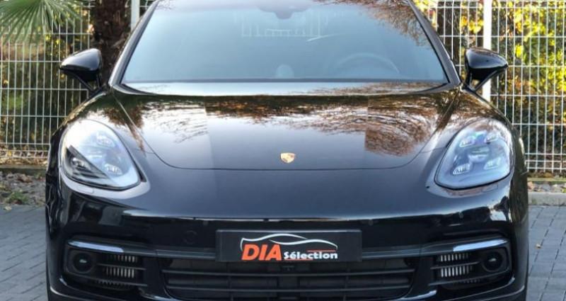 Porsche Panamera 3.0 V6 462CH 4 E-HYBRID Noir occasion à COLMAR - photo n°3