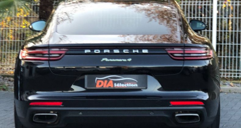 Porsche Panamera 3.0 V6 462CH 4 E-HYBRID Noir occasion à COLMAR - photo n°7