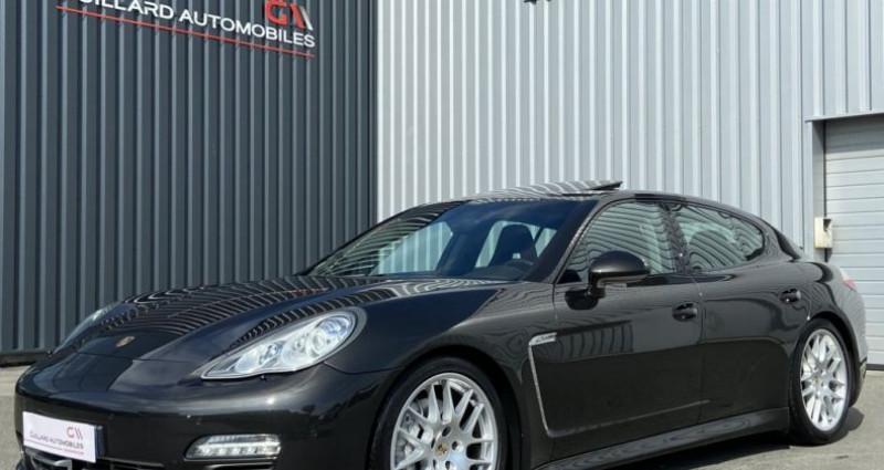 Porsche Panamera 3.0 V6 D 250ch PLATINIUM EDITION TIPTRONIC S Gris occasion à PLEUMELEUC