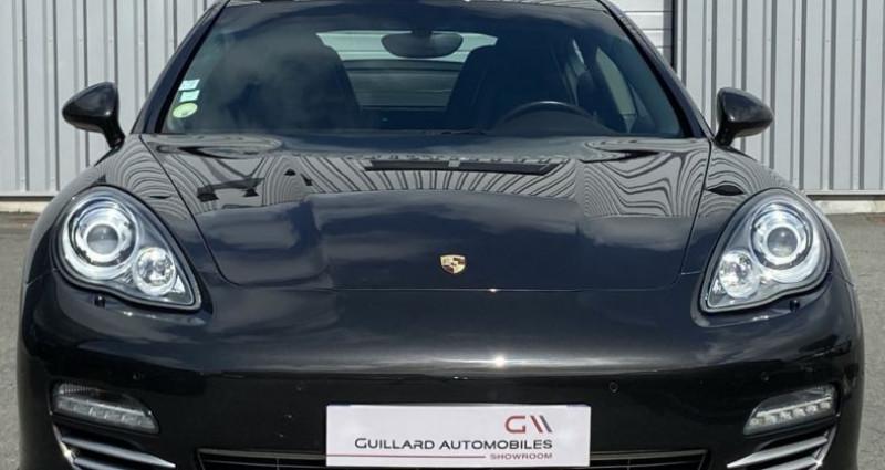 Porsche Panamera 3.0 V6 D 250ch PLATINIUM EDITION TIPTRONIC S Gris occasion à PLEUMELEUC - photo n°2