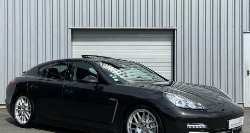 Porsche Panamera 3.0 V6 D 250ch PLATINIUM EDITION TIPTRONIC S Gris occasion à PLEUMELEUC - photo n°3