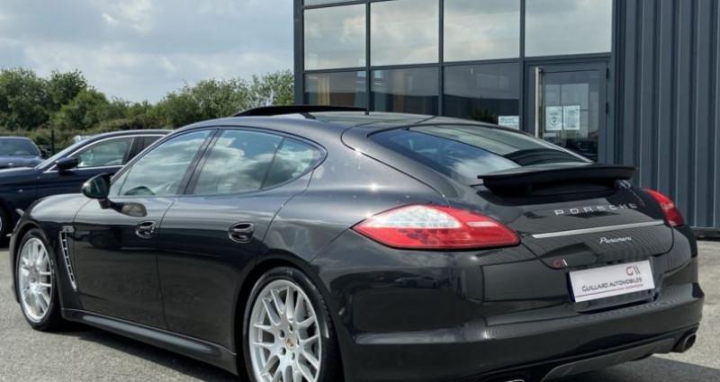 Porsche Panamera 3.0 V6 D 250ch PLATINIUM EDITION TIPTRONIC S Gris occasion à PLEUMELEUC - photo n°5
