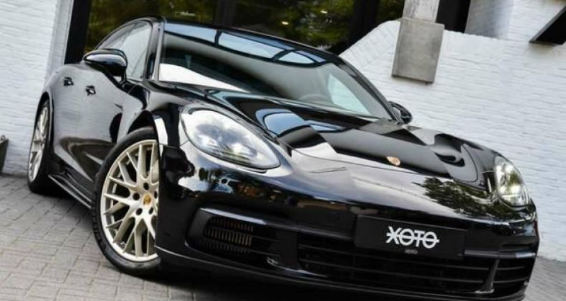 Porsche Panamera 4 2.9 V6 BI-TURBO PDK 10 YEARS EDITION Noir occasion à Jabbeke - photo n°2