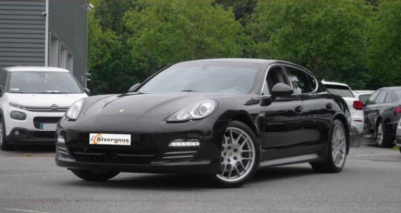 Porsche Panamera 4.8 V8 400 4S PDK Noir occasion à Chambourcy