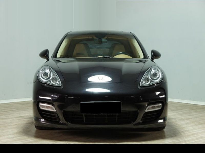 Porsche Panamera 4.8 V8 Turbo 500 ch Noir occasion à BEAUPUY - photo n°8