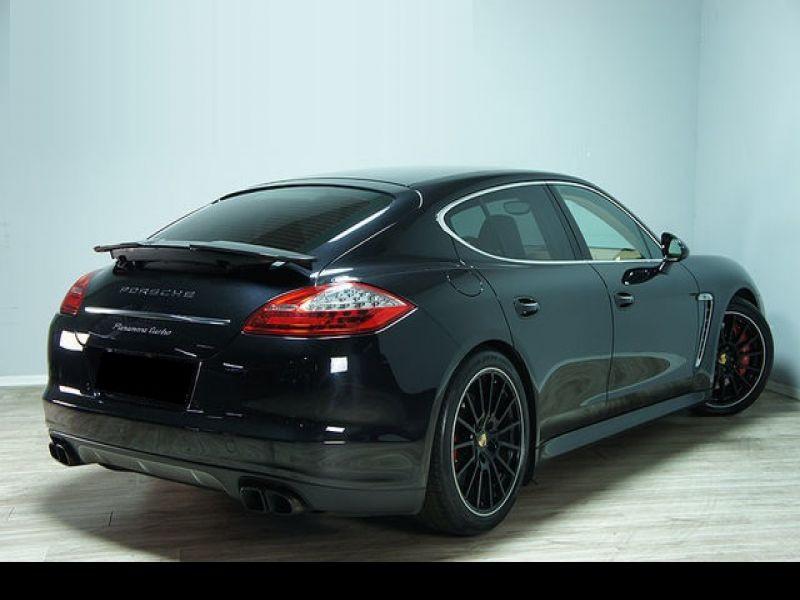 Porsche Panamera 4.8 V8 Turbo 500 ch Noir occasion à BEAUPUY - photo n°2