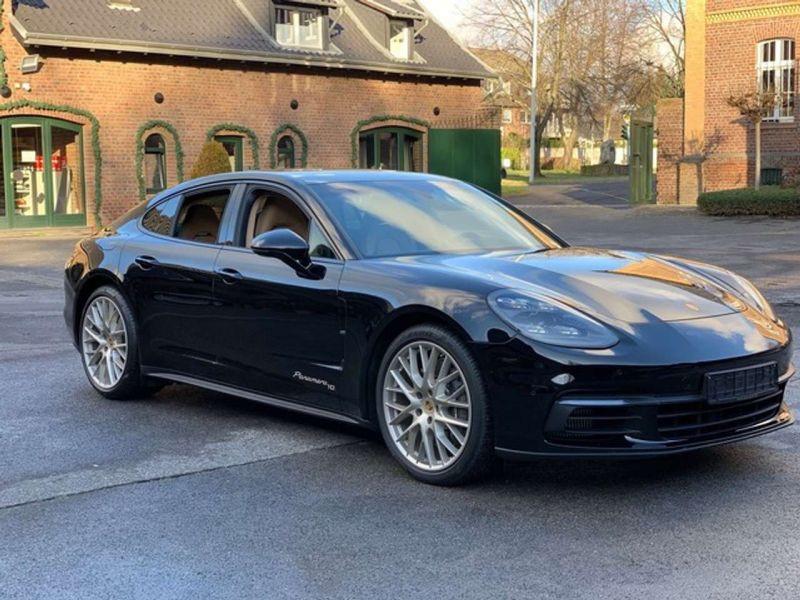 Porsche Panamera 4 E-Hybrid Noir occasion à BEAUPUY - photo n°1