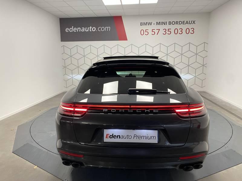 Porsche Panamera 4 V6 3.0 462 Hybrid Sport Turismo Edition 10 ans PDK Gris occasion à Lormont - photo n°19