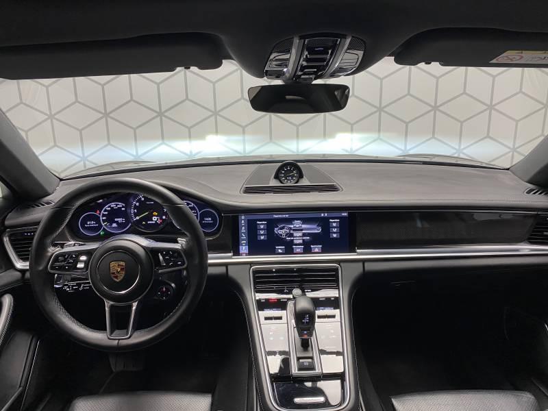 Porsche Panamera 4 V6 3.0 462 Hybrid Sport Turismo Edition 10 ans PDK Gris occasion à Lormont - photo n°13