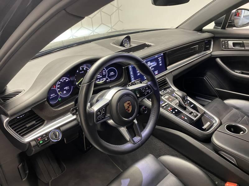 Porsche Panamera 4 V6 3.0 462 Hybrid Sport Turismo Edition 10 ans PDK Gris occasion à Lormont - photo n°9