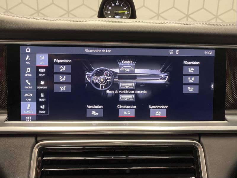 Porsche Panamera 4 V6 3.0 462 Hybrid Sport Turismo Edition 10 ans PDK Gris occasion à Lormont - photo n°4