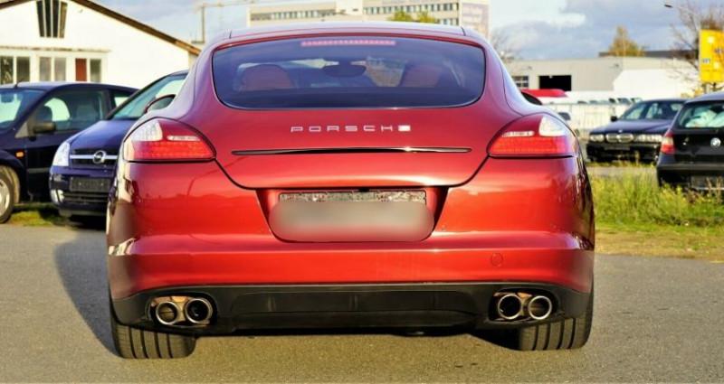 Porsche Panamera I (970) 4S PDK Rouge occasion à Boulogne-Billancourt - photo n°7
