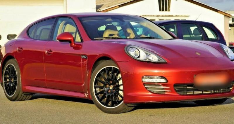 Porsche Panamera I (970) 4S PDK Rouge occasion à Boulogne-Billancourt - photo n°3