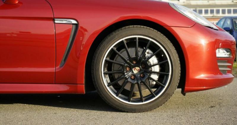 Porsche Panamera I (970) 4S PDK Rouge occasion à Boulogne-Billancourt - photo n°4