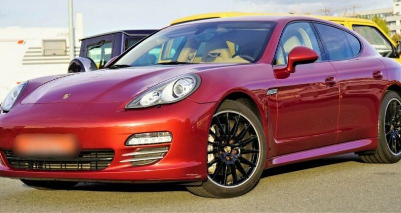 Porsche Panamera I (970) 4S PDK Rouge occasion à Boulogne-Billancourt