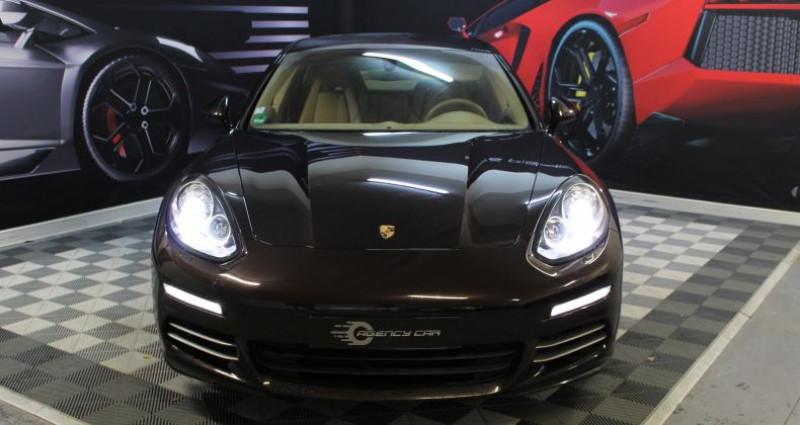 Porsche Panamera I (970) 4S V6 3.0 420ch PDK Marron occasion à COIGNIERES - photo n°2