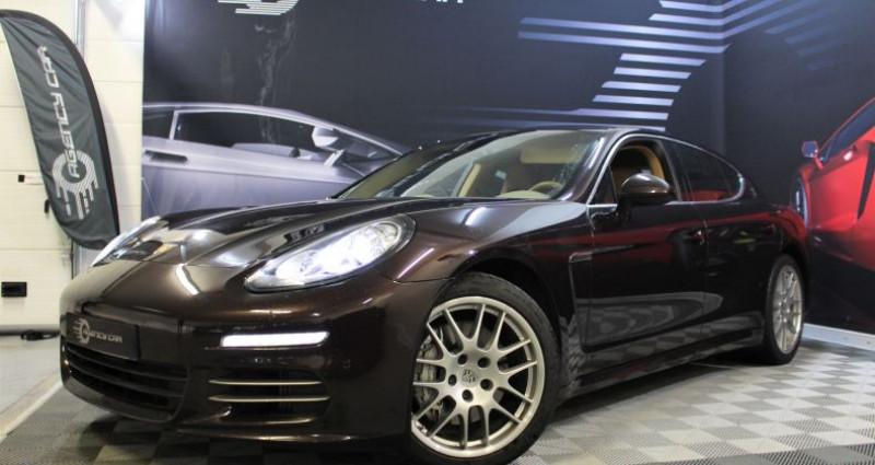 Porsche Panamera I (970) 4S V6 3.0 420ch PDK Marron occasion à COIGNIERES