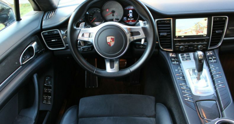 Porsche Panamera I (970) GTS PDK Noir occasion à Boulogne-Billancourt - photo n°4
