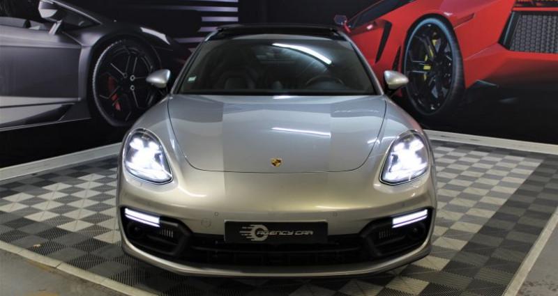 Porsche Panamera II 4.0 V8 GTS 460 1780?/mois Gris occasion à COIGNIERES - photo n°2