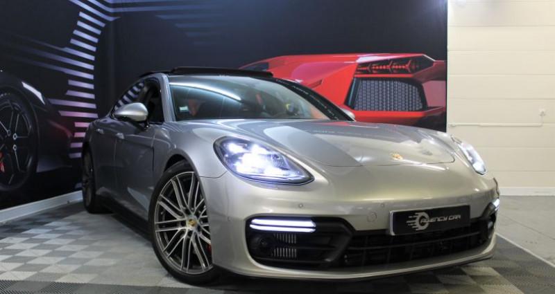 Porsche Panamera II 4.0 V8 GTS 460 1780?/mois Gris occasion à COIGNIERES - photo n°3