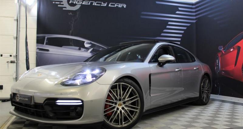 Porsche Panamera II 4.0 V8 GTS 460 1780?/mois Gris occasion à COIGNIERES