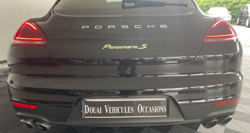 Porsche Panamera II SE-HYBRID 20CV Noir occasion à DOUAI - photo n°4